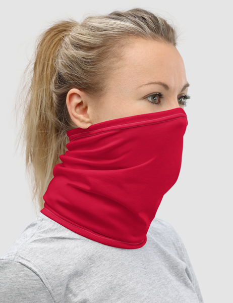 Classic Red | Neck Gaiter Face Mask