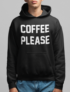 Coffee Please Hoodie - OniTakai
