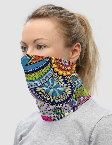 Tropical Paisley | Neck Gaiter Face Mask