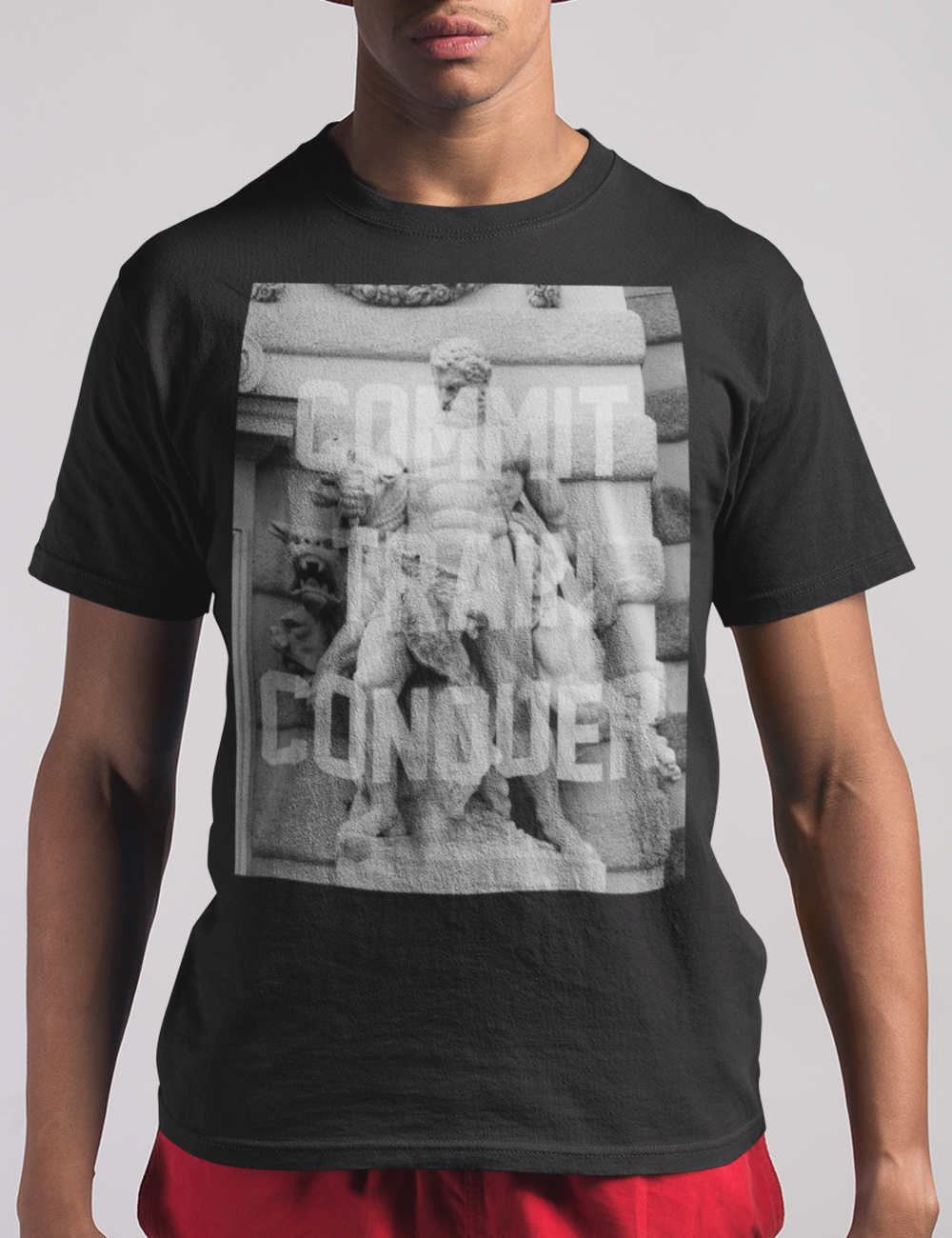 Commit. Train. Conquer. | T-Shirt