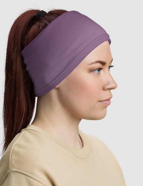 Dark Purple Ombre | Neck Gaiter Face Mask