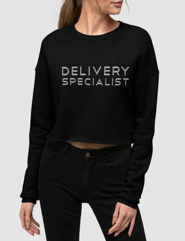 Delivery Specialist | Crop Sweatshirt