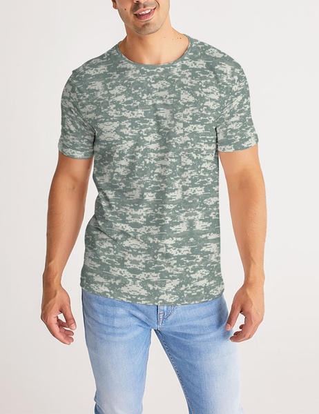 Digital Military Camouflage Print | Men's Sublimated T-Shirt