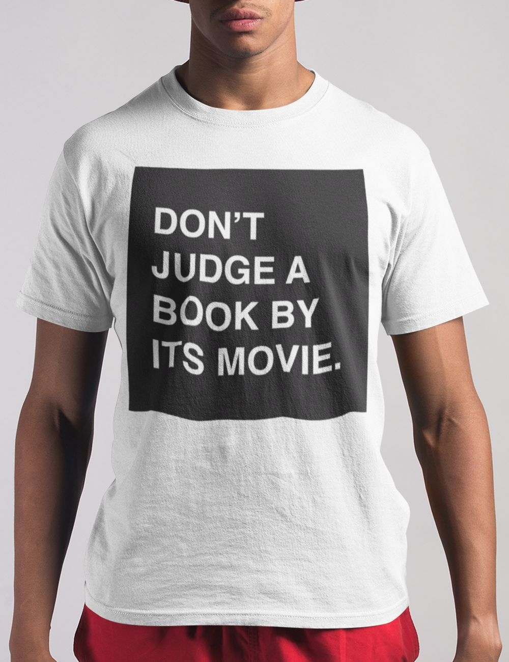 Don't Judge A Book By Its Movie T-Shirt - OniTakai