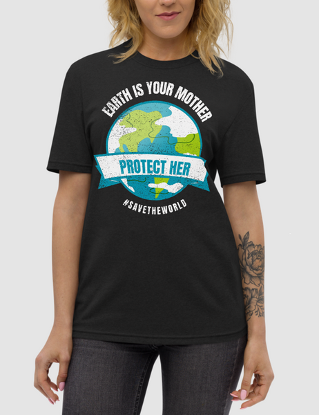 Earth Is Your Mother | Unisex Recycled T-Shirt