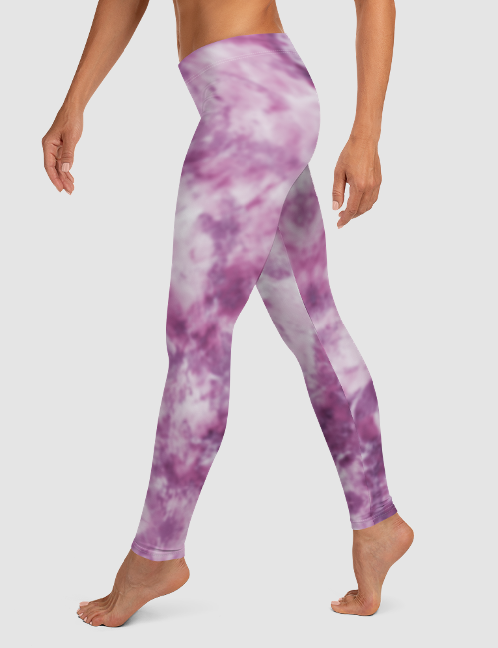 Faded Tie Dye | Women's Standard Yoga Leggings