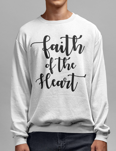 Faith Of The Heart Crewneck Sweatshirt - OniTakai