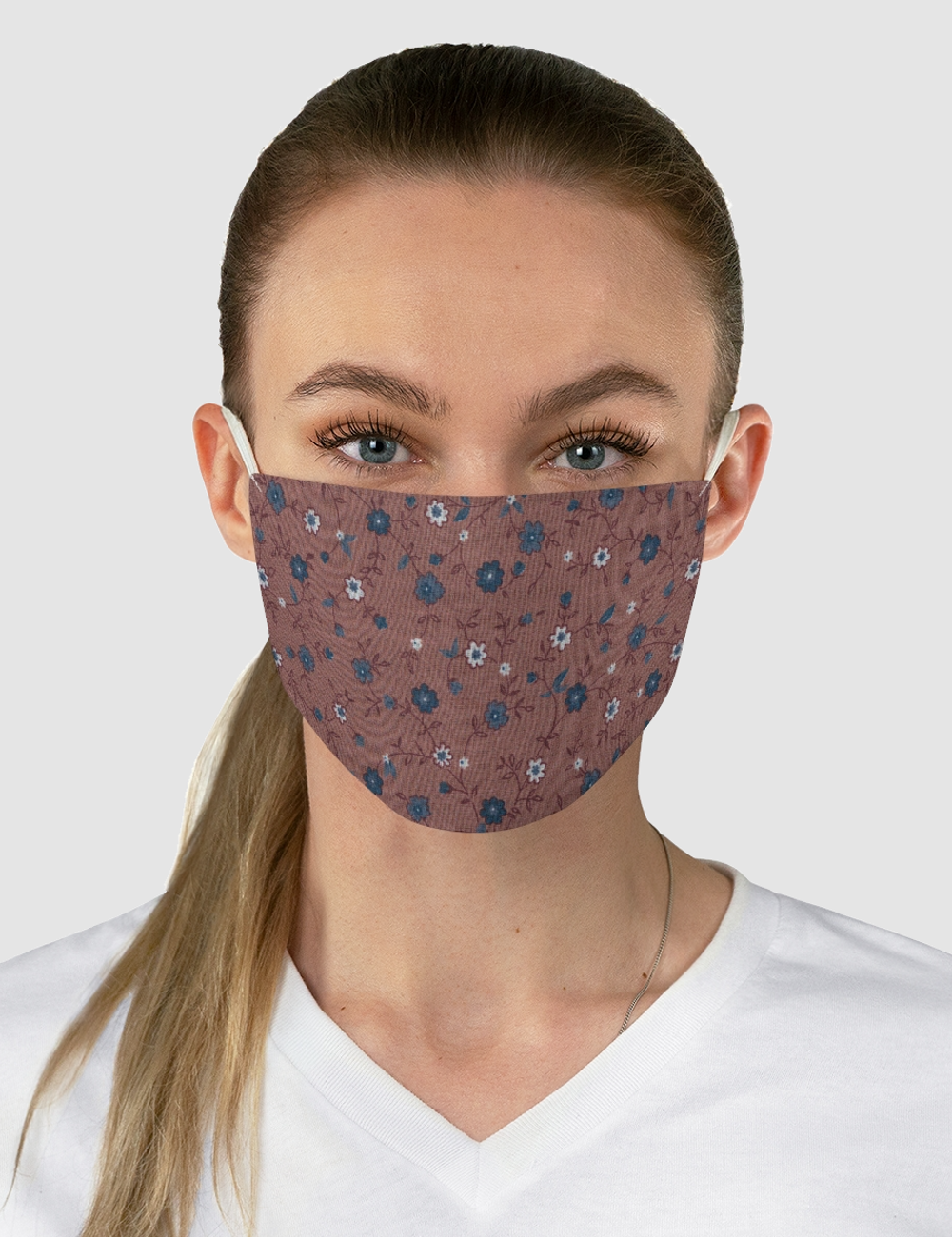 Vintage Garden Fabric Print | Fabric Face Mask