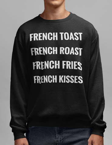 French Delights Crewneck Sweatshirt - OniTakai