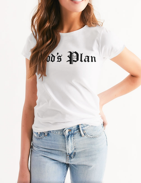 God's Plan | Women's Cut T-Shirt