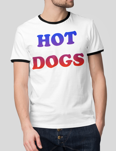 Hot Dogs | Ringer T-Shirt