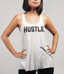 Hustle Women's Cut Racerback Tank Top - OniTakai