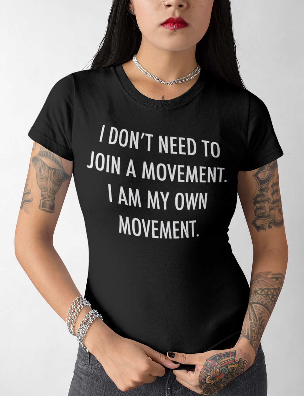 My Own Movement | Women's Cut T-Shirt