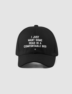 I Just Want Some Head In A Comfortable Bed Flexfit Hat