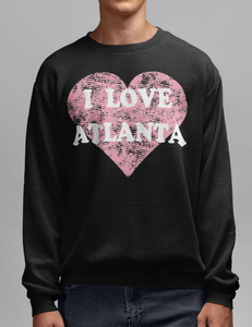 I Love Atlanta | Crewneck Sweatshirt