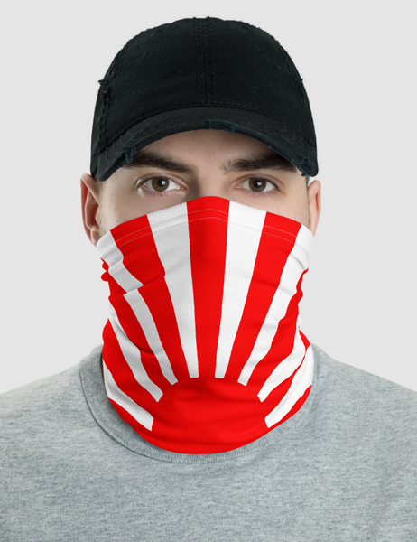 Imperial Rising Sun Of Japan | Neck Gaiter Face Mask