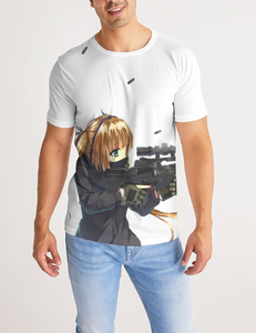Kawaii Gun Girl | Men's Sublimated T-Shirt