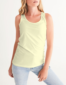 La Crème Women's Premium Fitted Tank Top - OniTakai