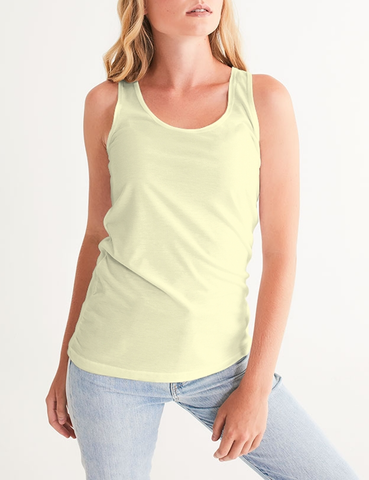 La Crème | Women's Fitted Sublimated Tank Top
