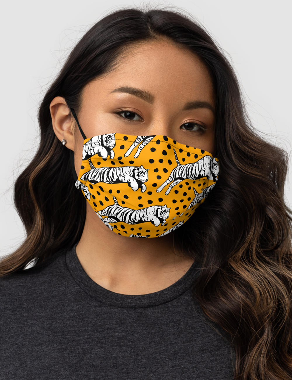 Leaping Tiger Premium Double Layered Pocket Face Mask - OniTakai