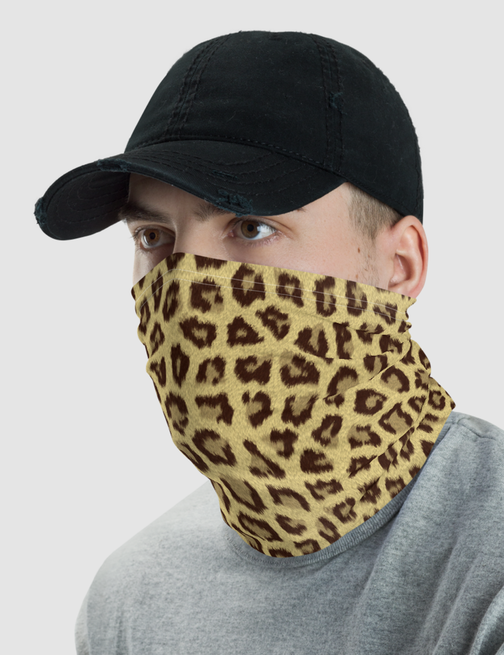 Leopard Print | Neck Gaiter Face Mask