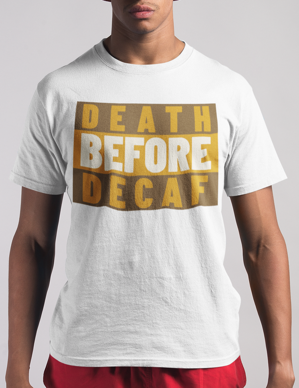 Death Before Decaf | T-Shirt