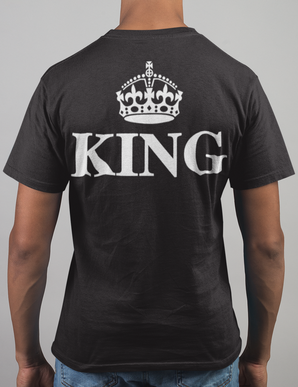 The King | Back Print T-Shirt