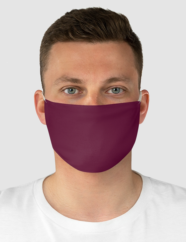 Classic Maroon | Fabric Face Mask