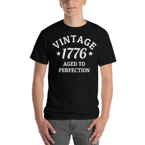 Customizable Vintage Aged To Perfection Men's T-Shirt