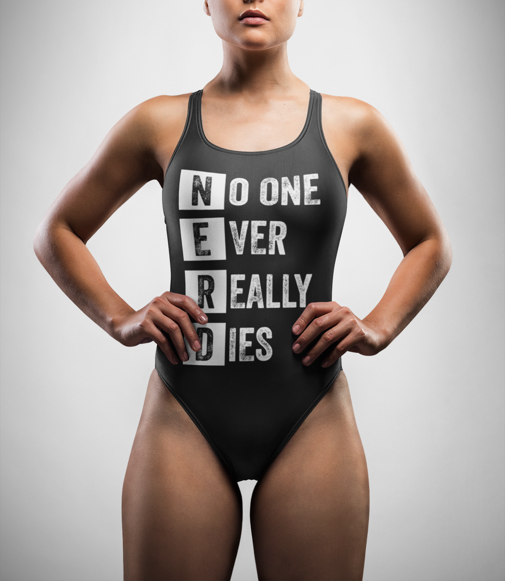 No One Ever Really Dies (N.E.R.D.) One-Piece Swimsuit - OniTakai