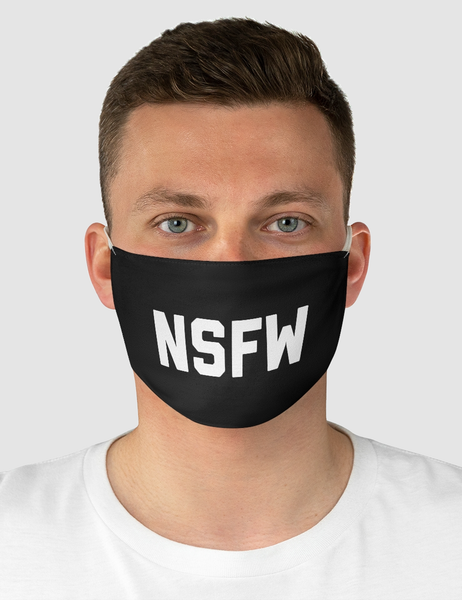 NSFW | Fabric Face Mask