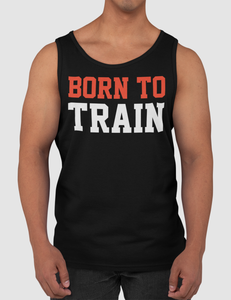 Born To Train Men's Classic Black Tank Top - OniTakai