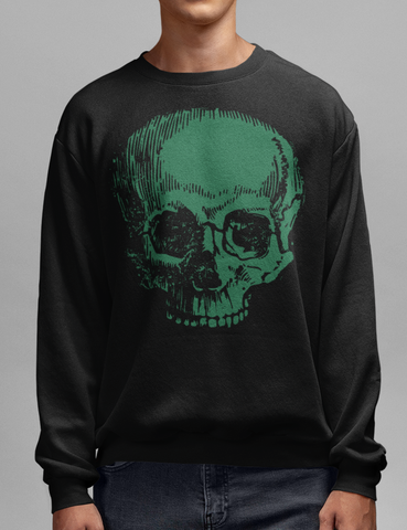 The Necromancer Black Crewneck Sweatshirt - OniTakai