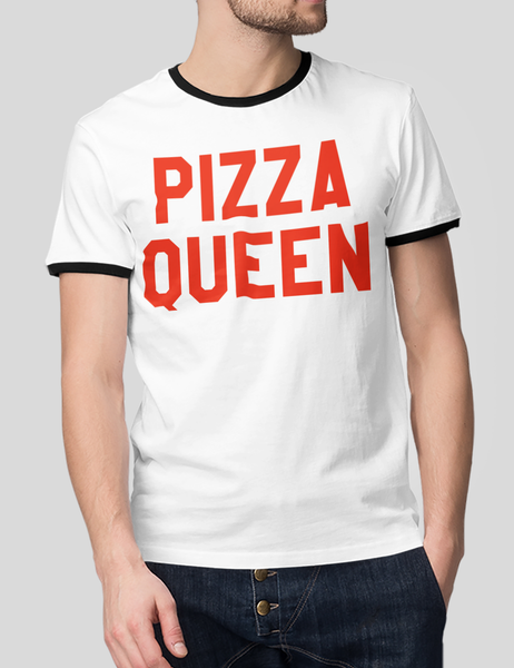 Pizza Queen | Ringer T-Shirt