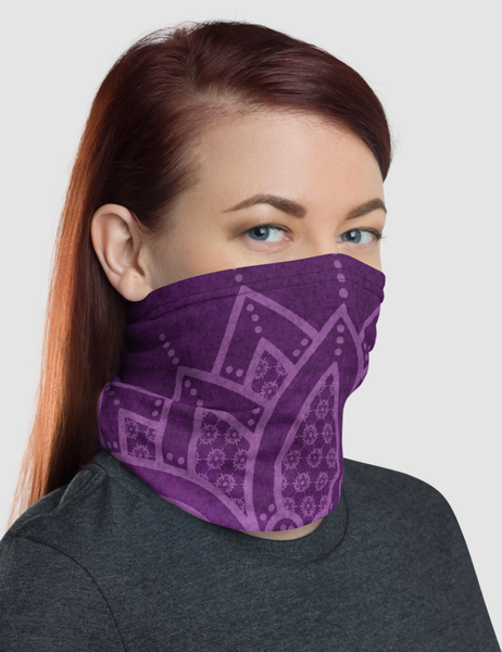 Purple Mandala | Neck Gaiter Face Mask