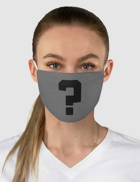 Question Mark | Fabric Face Mask