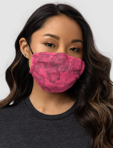 Rose Berry Premium Double Layered Pocket Face Mask - OniTakai