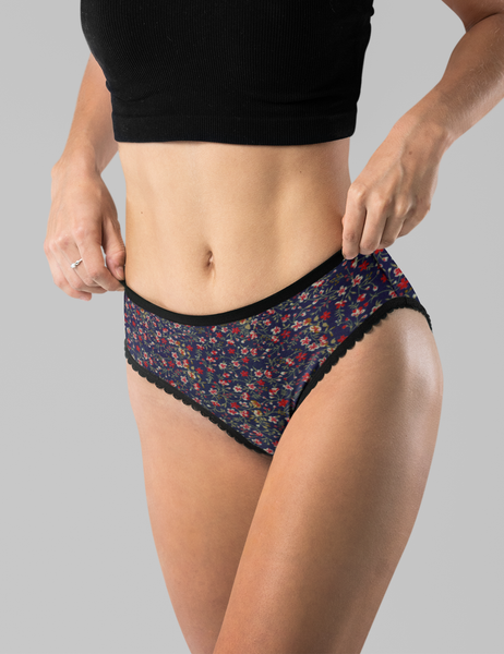Floral Fabric Print | Women's Intimate Briefs