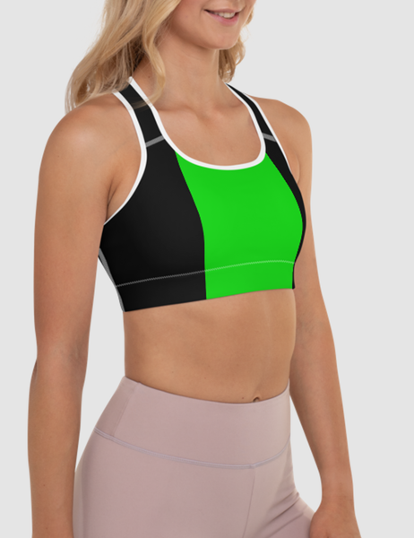 Sonya Blade | Women's Padded Sports Bra