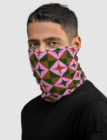 Star Mosaic Neck Gaiter Face Mask - OniTakai
