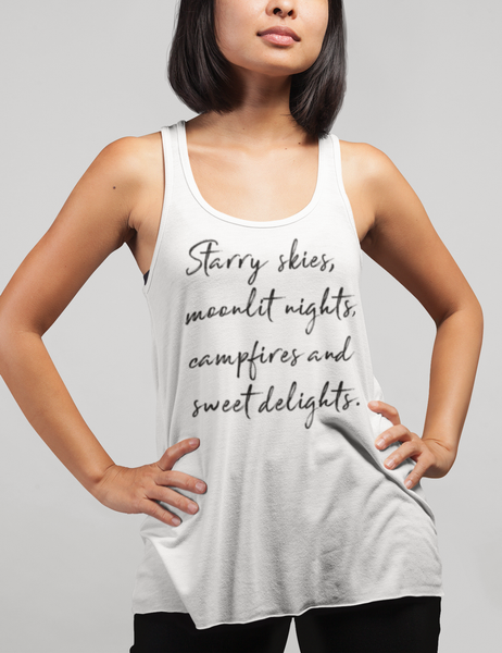 Starry Skies | Women's Cut Racerback Tank Top
