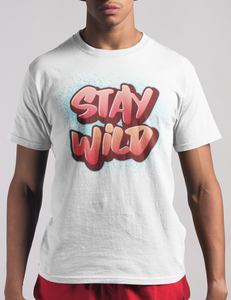 Stay Wild (Graffiti Style) | T-Shirt