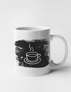 Steaming Cup Of Coffee | Classic Mug