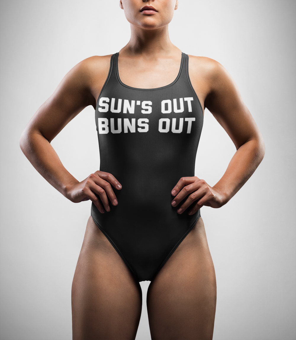 Sun's Out Buns Out One-Piece Swimsuit - OniTakai