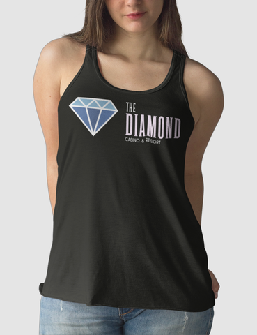 The Diamond Casino & Resort | Women's Cut Racerback Tank Top