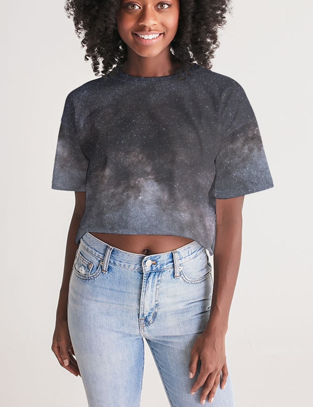 The Great Constellation | Women's Sublimated Crop Top T-Shirt