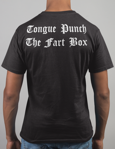Tongue Punch The Fart Box Back Print T-Shirt - OniTakai