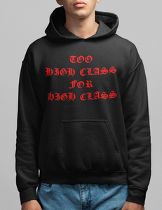 Too High Class For High Class | Hoodie