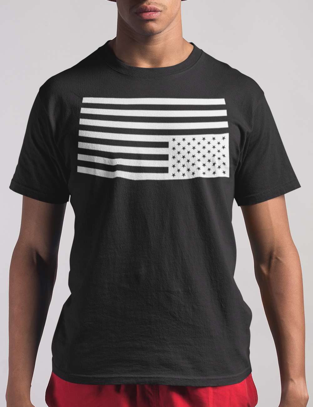 Upside Down American Flag T-Shirt