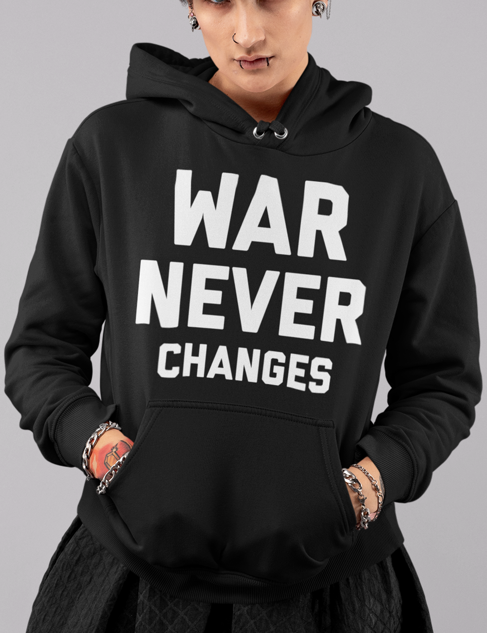 War Never Changes | Premium Hoodie
